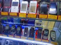 携帯電話売り場